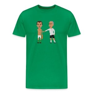 Men T-Shirt - The handshake - Men's Premium T-Shirt