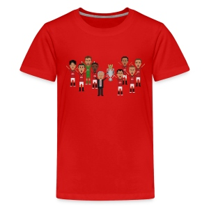 Teen T-Shirt - Champions of England 2013 - Teenage Premium T-Shirt