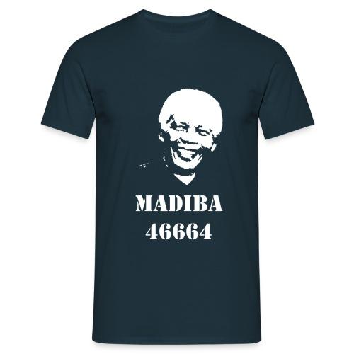 NELSON MANDELA - MADIBA - T-shirt Homme
