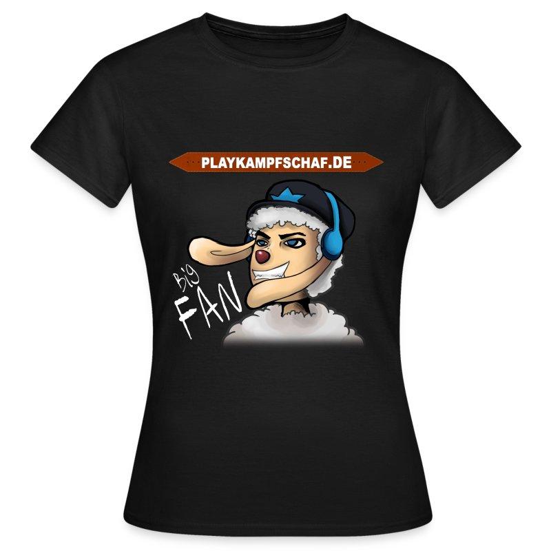PlayKampfschaf - BigFan - Frauen T-Shirt