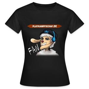 PlayKampfschaf - Fan - Frauen T-Shirt