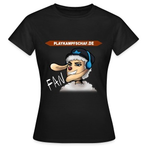 PlayKampfschaf - Fan - Frauen T-Shirt