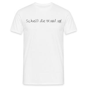 Spruch - SdWa - Schrift Schwarz - Männer T-Shirt
