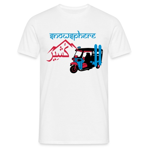 Snowboard Kashmir Ricksaw - Men's T-Shirt