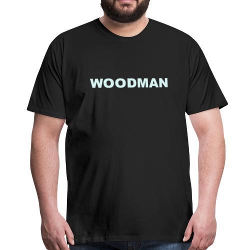 Reflective - WOODMAN, T-Shirt - Men's Premium T-Shirt