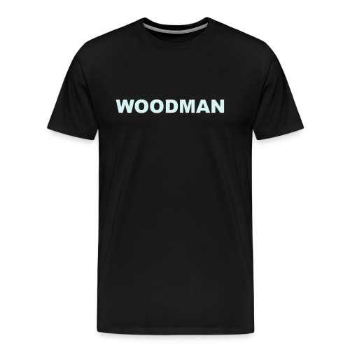 Reflective - WOODMAN, T-Shirt - Men's Premium T-Shirt