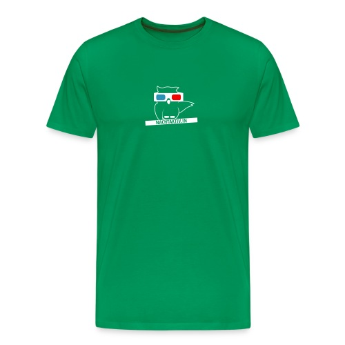 Techno-Eule - Männer Premium T-Shirt
