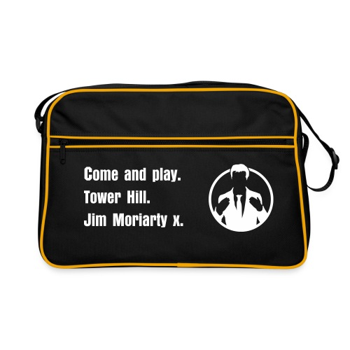 Come and play. Tower Hill. Jim Moriarty Tasche - Retro Tasche