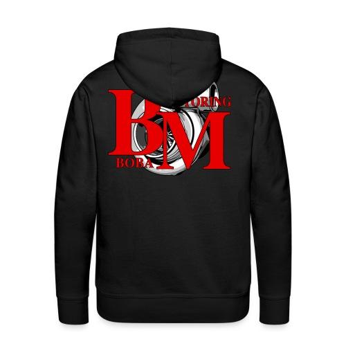 Boba-Motoring Fan-Pullover Rückseite - Männer Premium Hoodie