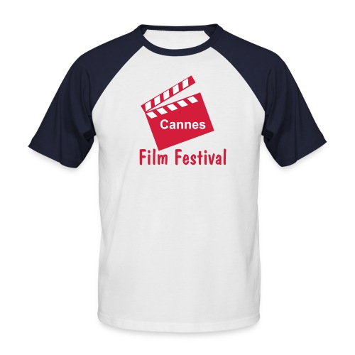 cannes film festival - T-shirt baseball manches courtes Homme