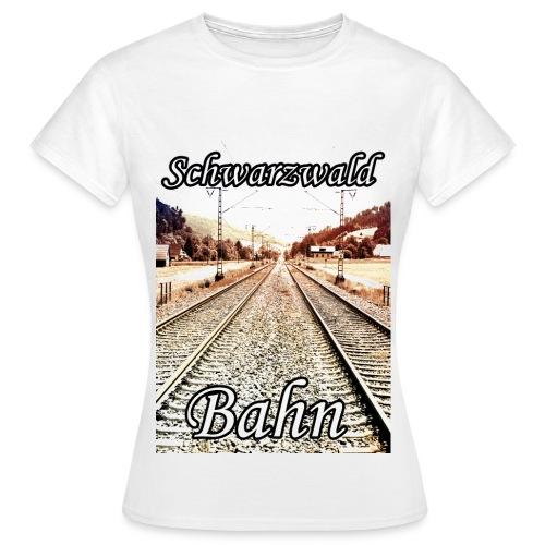 Bahn (w) - Frauen T-Shirt