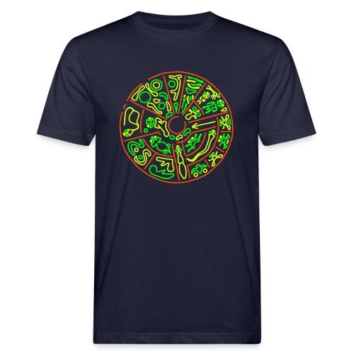 Disco Genetico Men's Organic Shirt  - Men's Organic T-Shirt