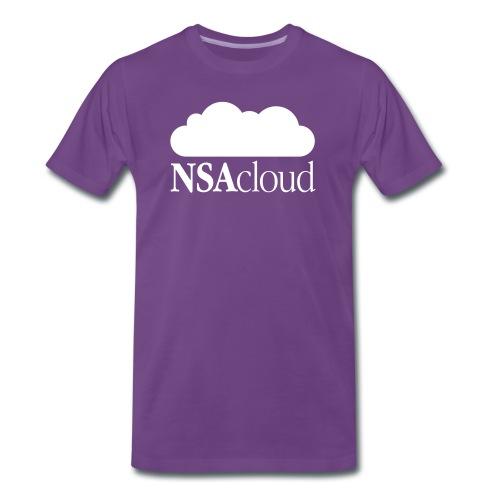 NSAcloud - Männer Premium T-Shirt