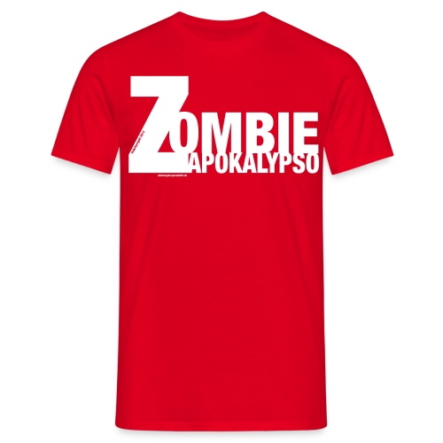 Zombie Apokalypso - Männer T-Shirt