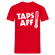 T-Shirts ~ Men's T-Shirt ~ Taps Aff