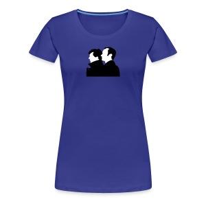 Sherlock und Mycroft Holmes  - Frauen Premium T-Shirt
