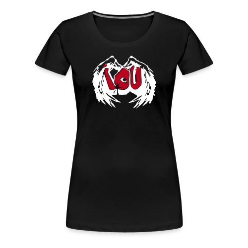 Graffiti - I.O.U. - Frauen Premium T-Shirt