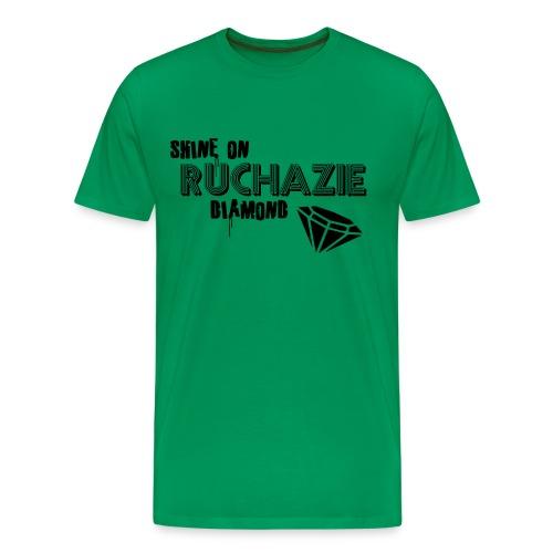 Shine on Ruchazie Diamond - Men's Premium T-Shirt