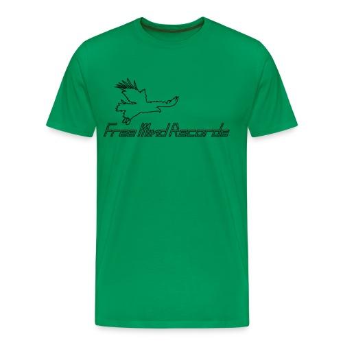 FMR (schwarz, kontur, Spreadshirt) - Männer Premium T-Shirt