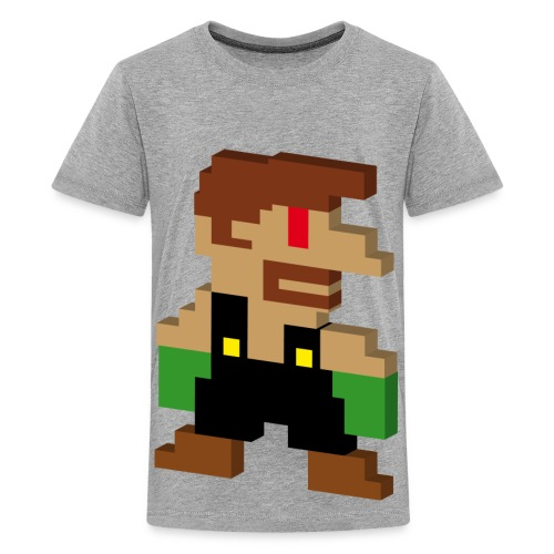 Tee-shirt Mario - T-shirt Premium Ado