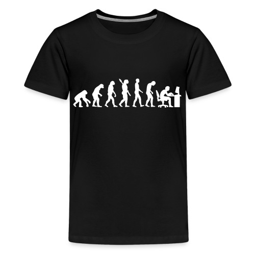 Tee-shirt imprimé 'Vie De Geek' - T-shirt Premium Ado