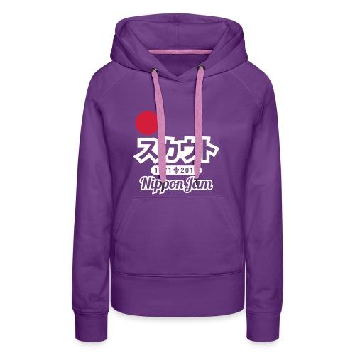 Nippon Jam ladies - Vrouwen Premium hoodie