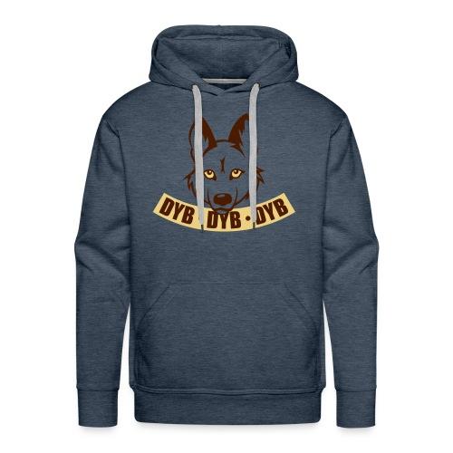 Welpen Dyb dyb dyb - Mannen Premium hoodie