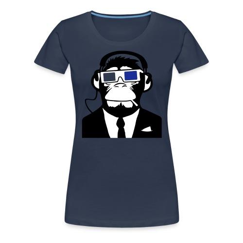 T-shirt with Monkey - Maglietta Premium da donna