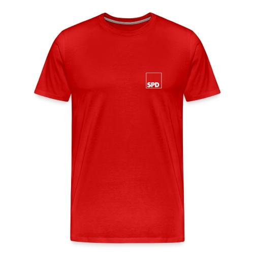 SPD XXXL-Shirt mit Rückendruck - Männer Premium T-Shirt