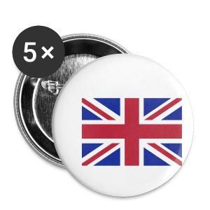 Drapeau anglais Union Jack - Badge petit 25 mm