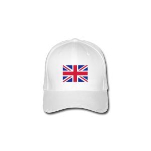 Drapeau anglais Union Jack - Casquette Flexfit
