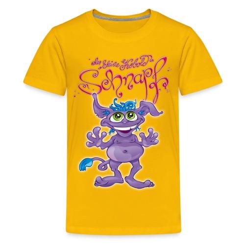 Schnapf Teenie Shirt (Oekotex zert.) - Teenager Premium T-Shirt