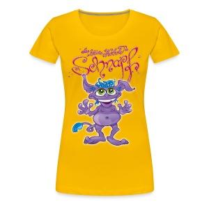 Schnapf Damen Shirt (Oekotex zert.) - Frauen Premium T-Shirt