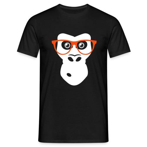 Scimmia Nerd - Maglietta da uomo