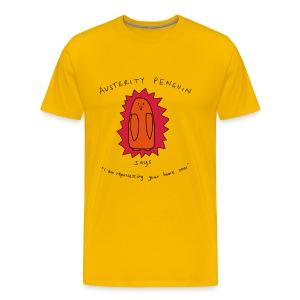 Austerity Penguin - Men's Premium T-Shirt