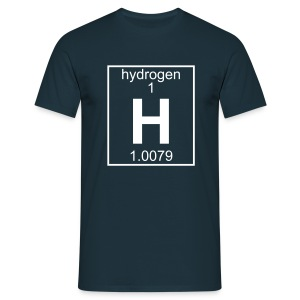 Hydrogen (H) (element 1) - Full 1 col Shirt - Men's T-Shirt
