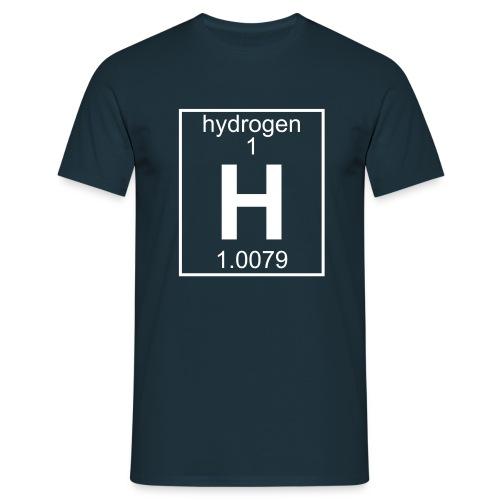 Hydrogen (H) (element 1) - Full 1 col Shirt - Men's T-Shirt
