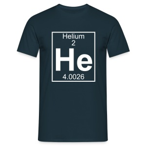 Helium (He) (element 2) - Full 1 col Shirt - Men's T-Shirt