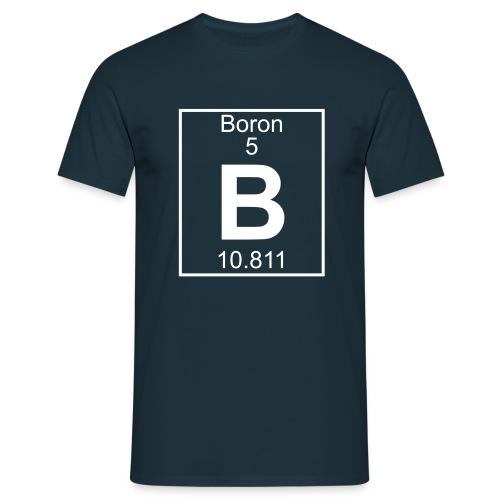 Boron (B) (element 5) - Full 1 col Shirt - Men's T-Shirt