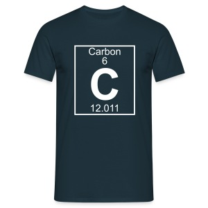 Carbon (C) (element 6) - Full 1 col Shirt - Men's T-Shirt