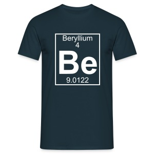 Beryllium (Be) (element 4) - Full 1 col Shirt - Men's T-Shirt