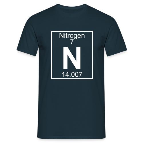 Nitrogen (N) (element 7) - Full 1 col Shirt - Men's T-Shirt