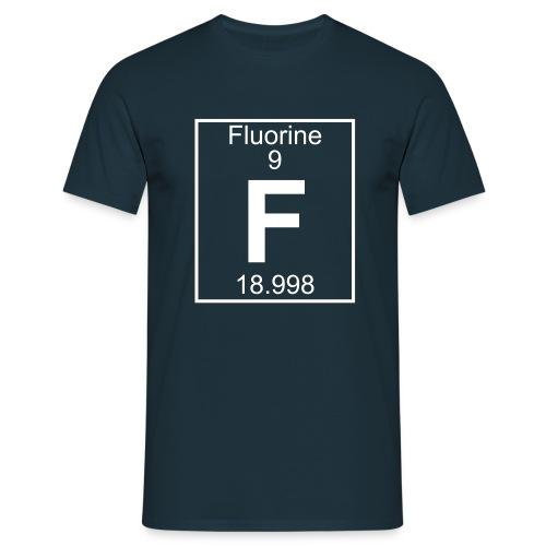 Fluorine (F) (element 9) - Full 1 col Shirt - Men's T-Shirt