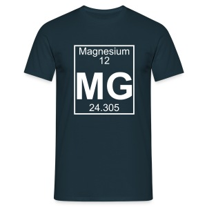 Magnesium (Mg) (element 12) - Full 1 col Shirt - Men's T-Shirt