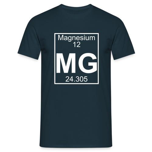 Magnesium (Mg) (element 12) - Full 1 col Shirt - Men's T-Shirt
