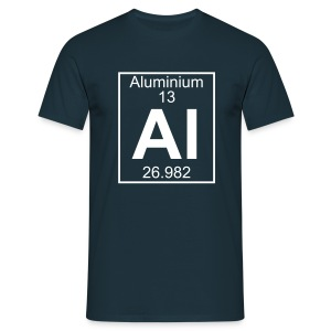 Aluminium (Al) (element 13) - Full 1 col Shirt - Men's T-Shirt