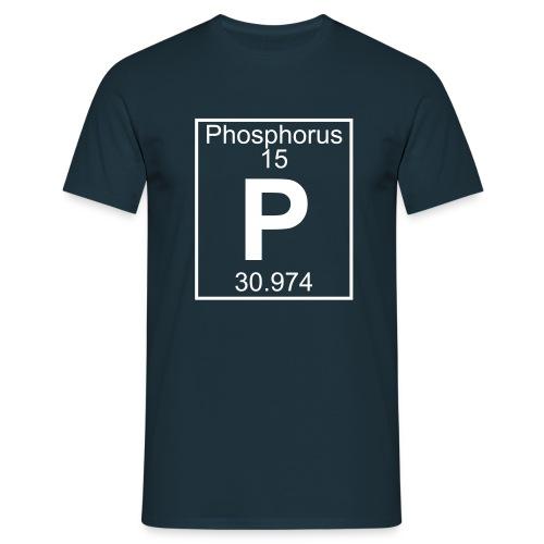 Phosphorus (P) (element 15) - Full 1 col Shirt - Men's T-Shirt