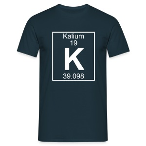 Kalium (K) (element 19) - Full 1 col Shirt - Men's T-Shirt