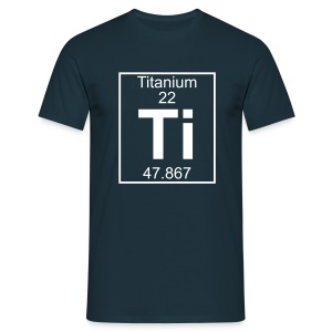 Titanium (Ti) (element 22) - Full 1 col Shirt - Men's T-Shirt