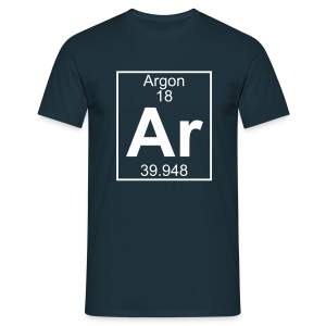 Argon (Ar) (element 18) - Full 1 col Shirt - Men's T-Shirt